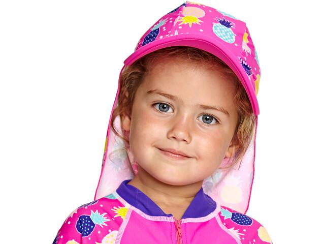 Zoggs Pine Crush Sun Hat Girls multi